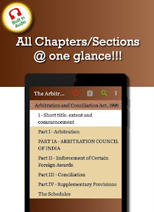 Arbitration and Conciliation Act 1996