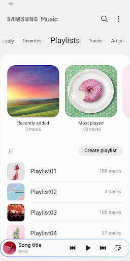 Samsung Music 16.2.22.20 Screenshots 4