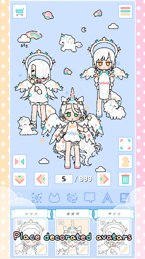 Pastel Friends : Dress Up Game 1.3.1 Screenshots 4