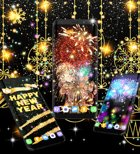 Happy new year 2021 live wallpaper 16.6 Screenshots 4