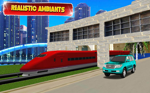 Train vs Prado Racing 3D: Advance Racing Revival apklade screenshots 1