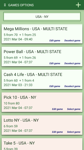Lottery Generator & Statistics  Screenshots 5