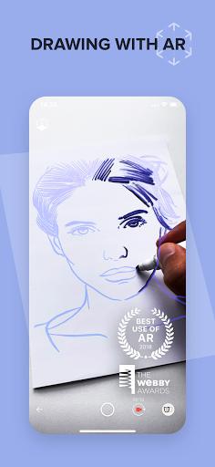SketchAR Create Art Draw Paint Colours 5.73-play Screenshots 1