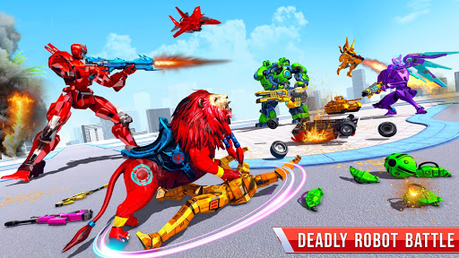 Tank Robot Car Games - Multi Robot Transformation screenshots 2