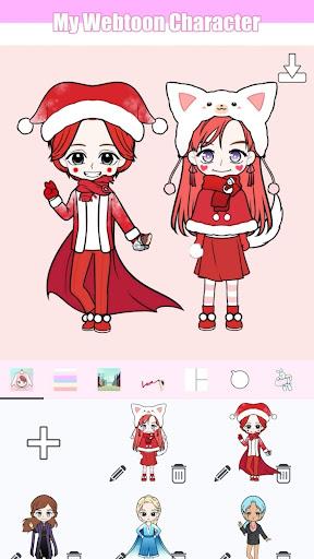 My Webtoon Character - K-pop IDOL avatar maker 2.6.0 screenshots 5