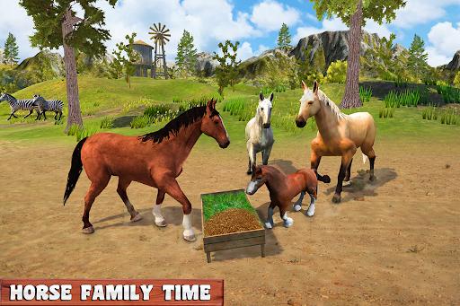 Horse Family Jungle Adventure Simulator Game 2020 screenshots 18