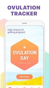 Urmărire menstruaţie -Calendar ovulaţie şi sarcină 2