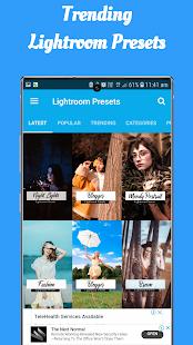Presets For Lightroom   Lr Mobile Presets 2.1.0 Screenshots 3