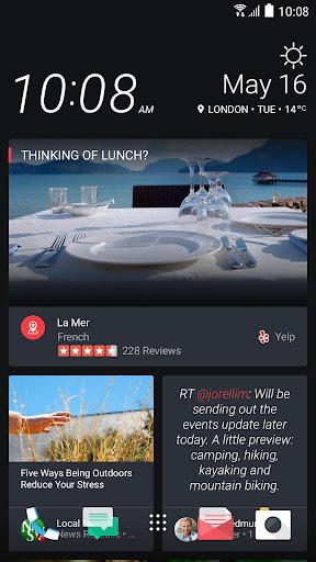Sense Home Launcher-News,Theme  Screenshots 6