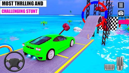Ramp Car GT Racing Stunt Games 2020: New Car Games apkslow screenshots 3