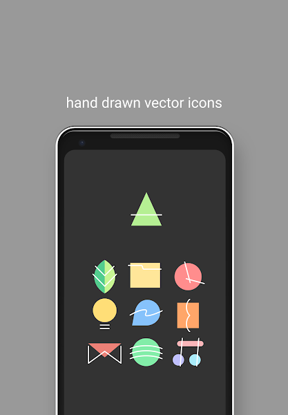Appstract Icon Pack (Dark Theme)