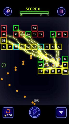 Brick Breaker Glow 1.0.0.25 screenshots 2