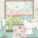 봄행열차 소금이 - 카카오톡 테마