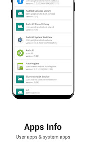 Device Info: View phone infomation.