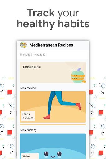 Foto do Mediterranean Recipes: Diet & Meal Planner app