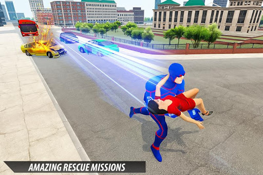 Grand Light Speed Robot Hero City Rescue Mission 2.0 screenshots 4