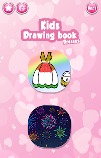 Glitter Dresses Coloring Book - Drawing pages 7.0 Screenshots 1