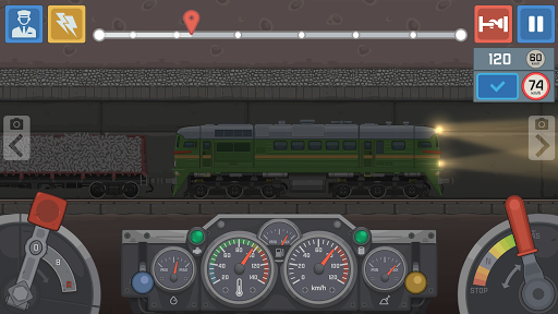 Train Simulator - 2D Railroad Game  Pc-softi 4