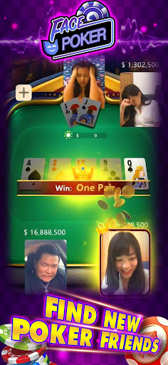 Face Poker - Live Texas Holdem Poker With Friends 1.8.0 3