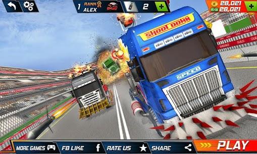 Semi Truck Crash Race 2021: New Demolition Derby 1