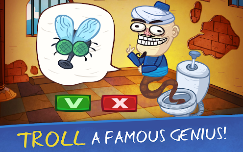 Troll Face Quest: Video Games 2 - Tricky Puzzle Screenshot