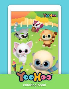 YooHoo & Friends Coloring Book