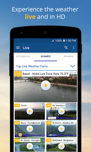 wetter.com - Weather and Radar 2.43.5 Screenshots 5