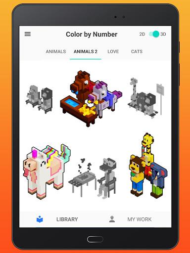 Color By Number - Unicorns Pixel Art apkdebit screenshots 12
