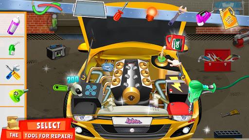 Modern Car Mechanic Offline Games 2020: Car Games apkslow screenshots 9