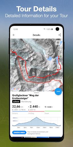 bergfex Tours & GPS Tracking Running Hiking Bike 3.00 Screenshots 2