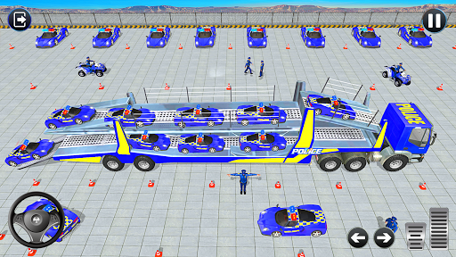 Grand Police Vehicles Transport Truck  Screenshots 6
