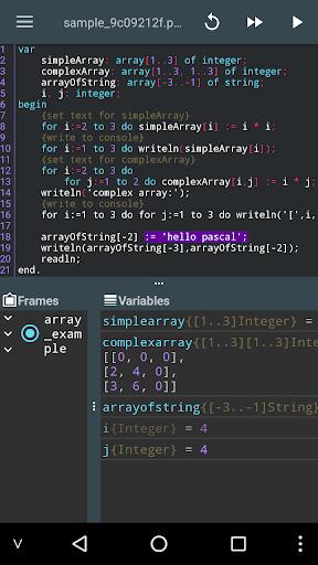 Pascal N-IDE - Editor And Compiler - Programming  Screenshots 5