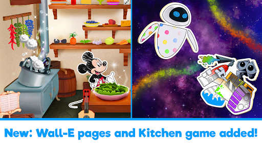 Disney Coloring World - Color & Play Kids Games 7.1.0 screenshots 1