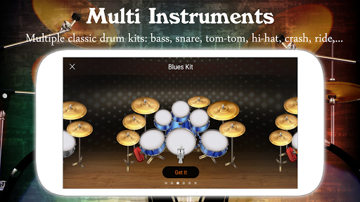 Drum Live: Real drum set drum kit music drum beat 4.2 screenshots 5