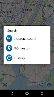 Map of New York offline