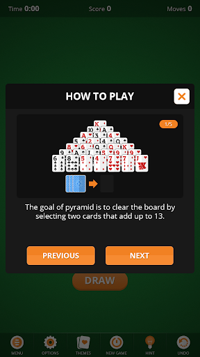 Pyramid Solitaire  screenshots 3