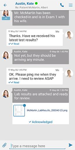 qliqconnect: qliq secure texting for healthcare screenshot 2