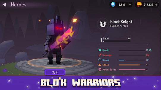 Blo'k Warriors MOD APK 0.6.5 (Unlimited Money) 5