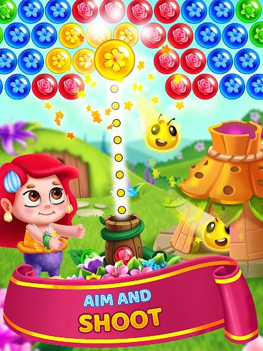 Flower Games - Bubble Shooter 4.2 screenshots 9