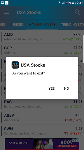 Foto do USA Stocks