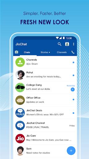 JioChat: HD Video Call 3.2.8.1.0901 screenshots 2