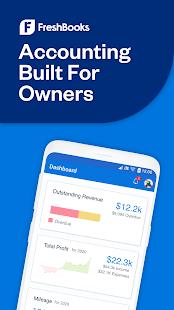 FreshBooks -Invoice+Accounting Screenshot