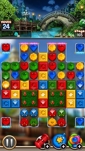 Jewel Royal Garden: Match 3 gem blast puzzle 1.0.1 screenshots 5