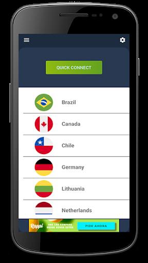 Free Unlimited VPN - USA, Canada, Europe, Latam 3.8.3.5.6 Screenshots 3