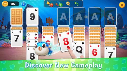 Solitaire Ocean - Card Games, Klondike & Tripeaks 1.2.0 screenshots 4