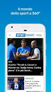 SportMediaset Screenshot