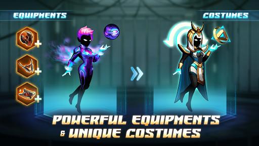 Cyber Fighters: Cyberpunk Stickman Impact Fighting screenshots 10