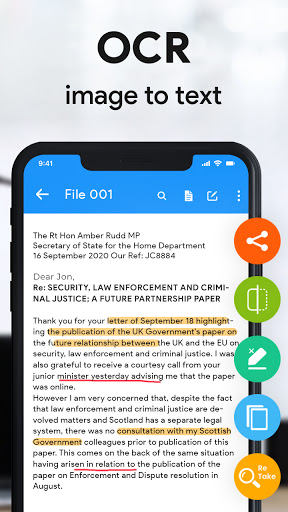 Scanner App - Scan PDF Documents, PDF Scanner android2mod screenshots 14