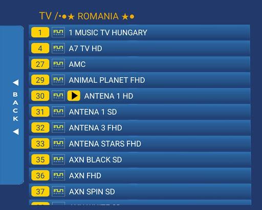 IPTV Romania - canale romanesti  Screenshots 4