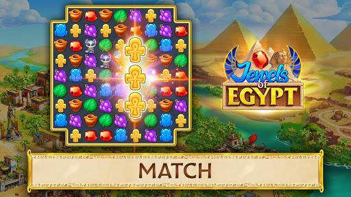 Jewels of Egypt: Gems & Jewels Match-3 Puzzle Game 1.9.900 screenshots 9